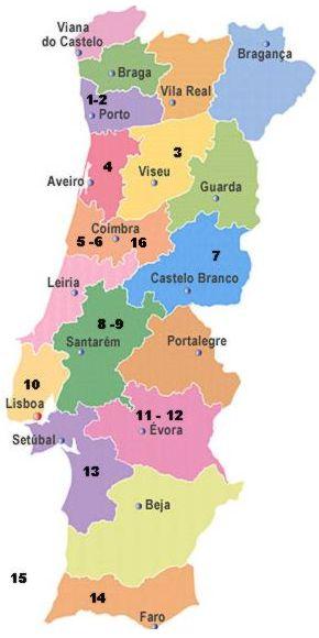 bairrada portugal mapa Confrarias CEUCO Portugal bairrada portugal mapa